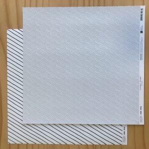 Liebe Papier - Chevron P&b - Mini Chevron P&b