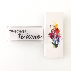Liebe Papier - Goodies - Carimbo MamÃe te Amo