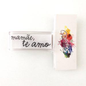 Liebe Papier - Goodies - Carimbo Mamae te Amo