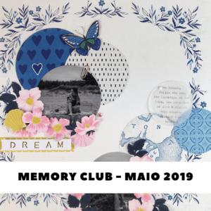 Liebe Papier - Curso Online - Memory Club - Maio 2019