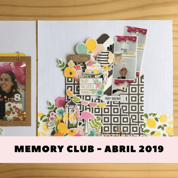 Curso Online - Memory Club 03 - Patio Party