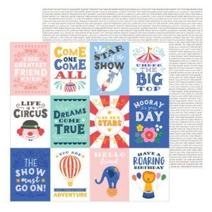 Liebe Papier - Big Top Dreams - Big Top Quotes