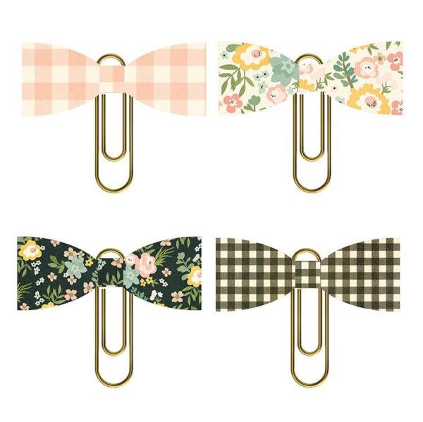 Liebe Papier - Spring Farmhouse - Bow Clips