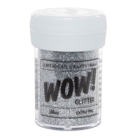 American Crafts - Wow! Glitter Silver