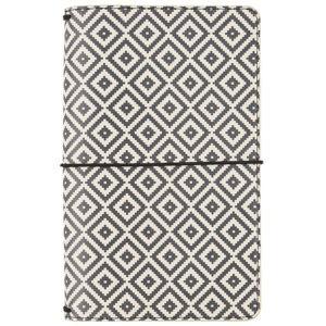 Liebe Papier - Travelers Notebook - Aztec Black & White