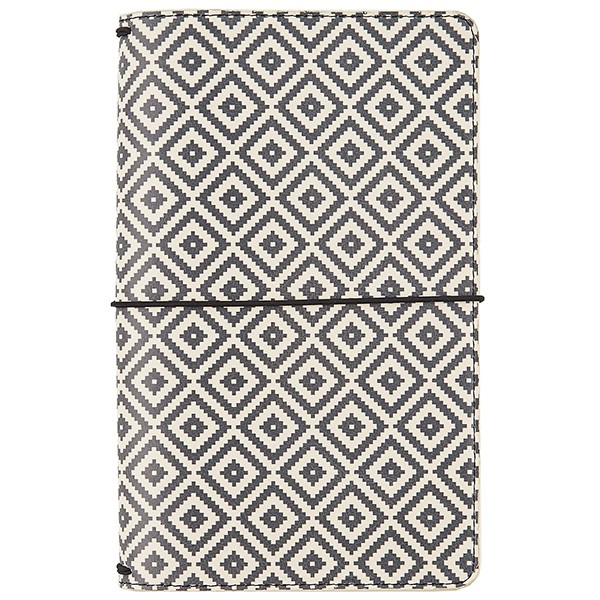 Liebe Papier - Travelers Notebook - Aztec Black & White