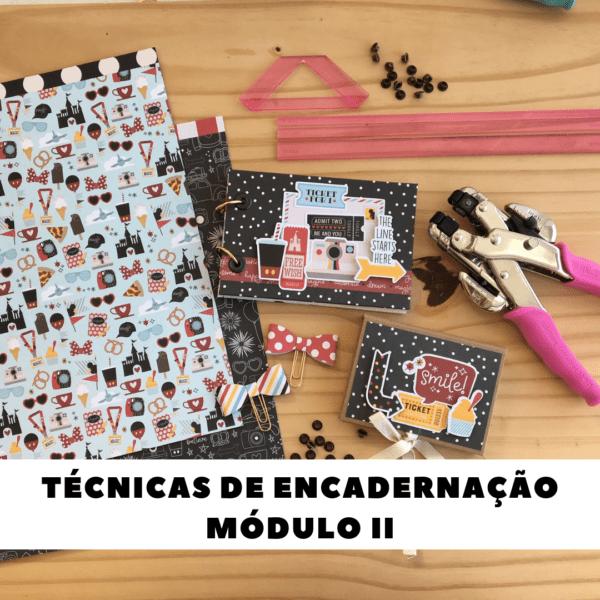 Liebe Papier - Técnicas de Encadernação - Módulo II