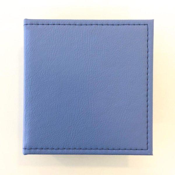 Mini Álbum 13x14cm - Azul Médio