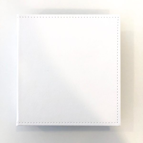 Álbum 21 x 23 cm - Branco Heart