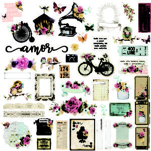Liebe Papier - You Are my Home -  Die Cuts