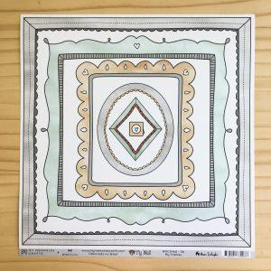 Liebe Papier - Kit my Memories Crafts - my Wall