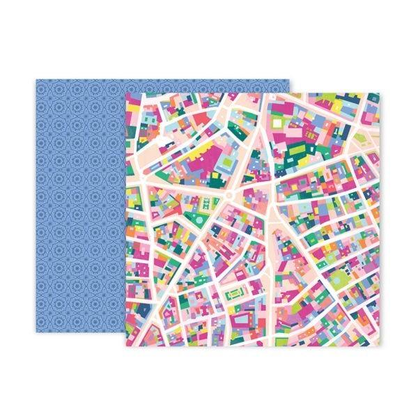 Pink Paislee - Horizon - Paper 5