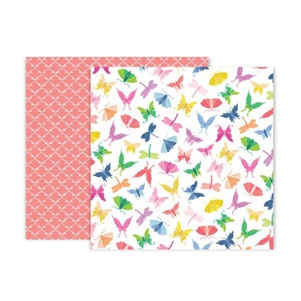 Pink Paislee - Horizon - Paper 7