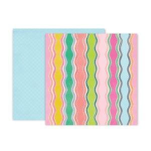 Liebe Papier - Pink Paislee - Horizon - Paper 8