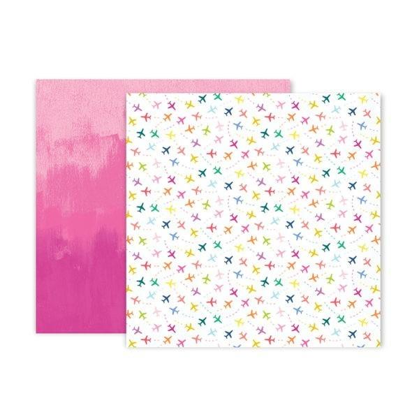 Pink Paislee - Horizon - Paper 9