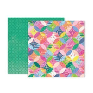 Liebe Papier - Pink Paislee - Horizon - Paper 12