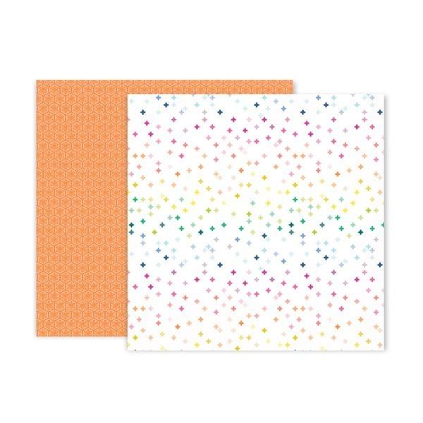 Liebe Papier - Pink Paislee - Horizon - Paper 15