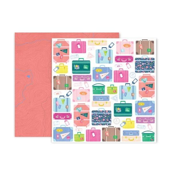 Pink Paislee - Horizon - Paper 17