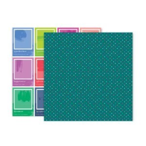 Liebe Papier - Pink Paislee - Horizon - Paper 18