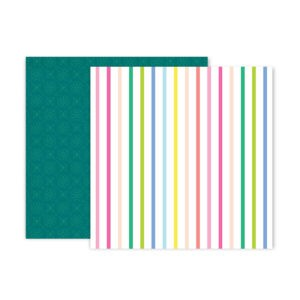 Liebe Papier - Pink Paislee - Horizon - Paper 19
