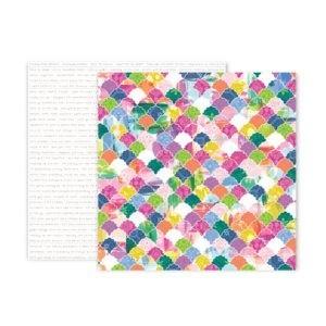 Liebe Papier - Pink Paislee - Horizon - Paper 20
