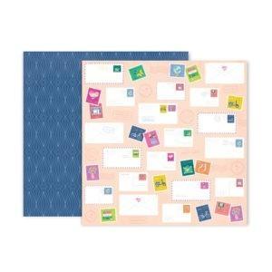 Liebe Papier - Pink Paislee - Horizon - Paper 22