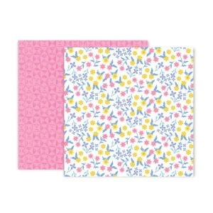 Liebe Papier - Pink Paislee - Horizon - Paper 23