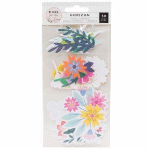 Liebe Papier - Horizon - Mixed Floral Die Cuts