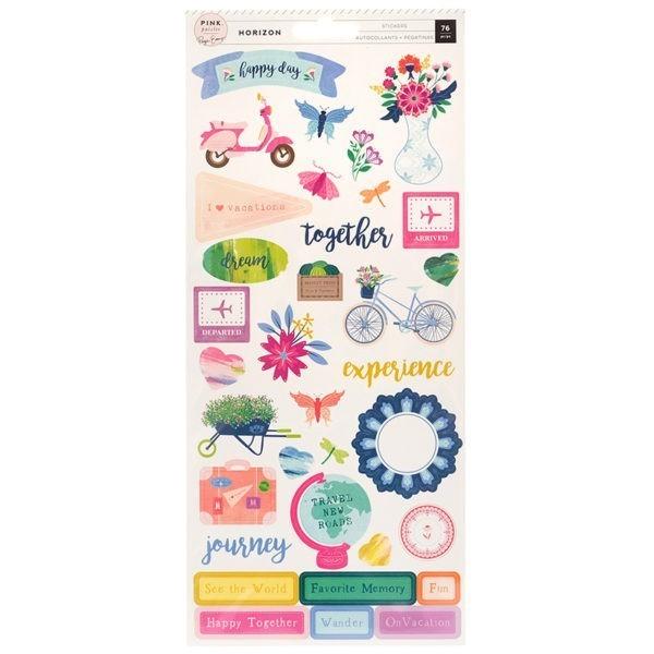 Horizon - Cardstock Stickers
