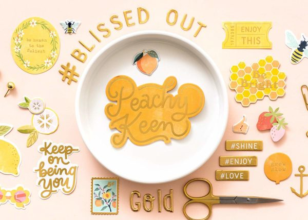 Dear Lizzy - It's All Good - be Bright Chipboard Phrase And Icons