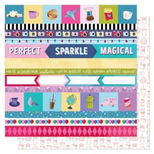 Liebe Papier - Shimelle - Sparkle City - Perfect Day