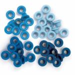 Liebe Papier - Standard Eyelets - Blue (ilhos)