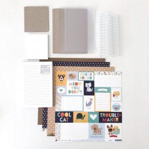 Liebe Papier - Kit Aula de TÉcnicas de EncadernaÇÃo - MÓdulo 1