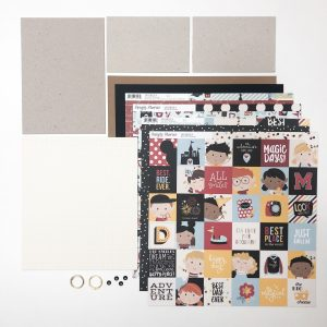 Liebe Papier - Kit Aula de TÉcnicas de EncadernaÇÃo - MÓdulo 2