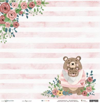 Abraço de Urso - Régua de Costura Presente