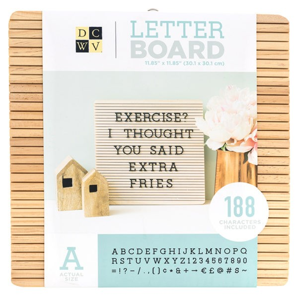 Dcwv - Letter Board