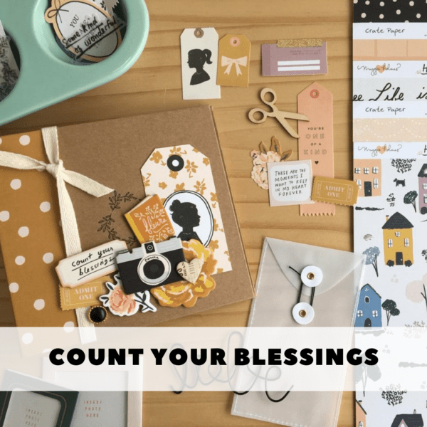 Liebe Papier - Curso online - Count Your Blessings