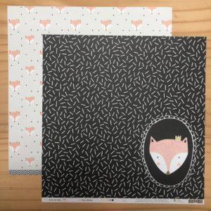 Liebe Papier - Cardstock Texturizado Azul Turquesa