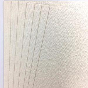 Liebe Papier - American Crafts - Cardstock Texturizado Vanilla