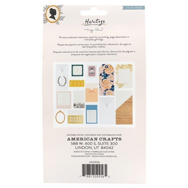 Heritage - Cards And Envelopes - Stationery Packs