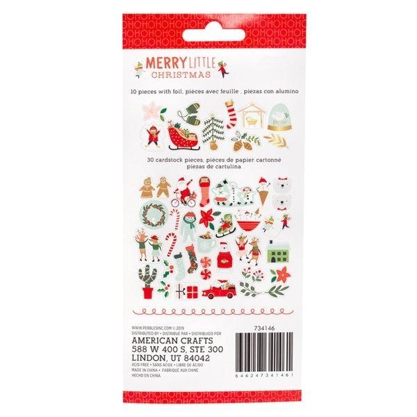 Merry Little Christmas -  Icon Ephemera