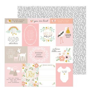 Liebe Papier - Peek-a-boo You Girl - Ephemera