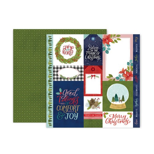 Liebe Papier - Paper 12 - Together For Christmas - Pink Paislee