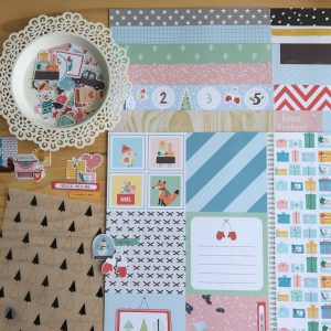 Liebe Papier - Kit Studio Baunilha - Noite Feliz