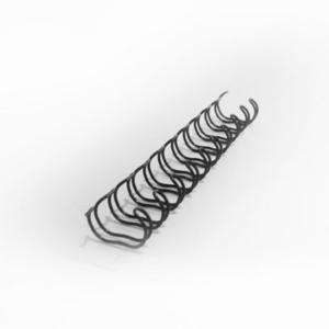 Liebe Papier - Wire-o Preto Para Encadernacao 1-1/4 Polegadas