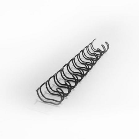 Liebe Papier - Wire-o Preto Encadernacao - 1 1/4 Polegadas