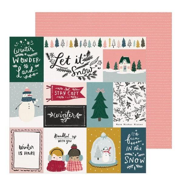 Liebe Papier - Bundled - Snowflake - Crate Paper