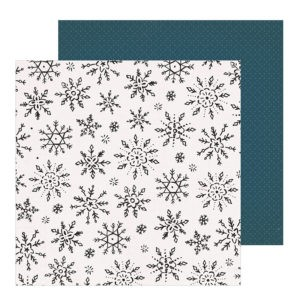 Liebe Papier - Winterscape - Snowflake  - Crate Paper