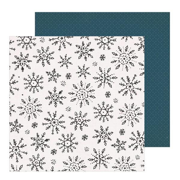 Liebe Papier - Crate Paper - Snowflake - Winterscape