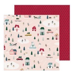 Liebe Papier - Village - Snowflake - Crate Paper